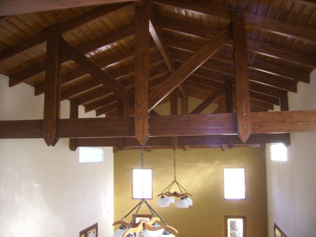 Techos de madera maderera nobs san francisco c rdoba - Maderas para techos ...