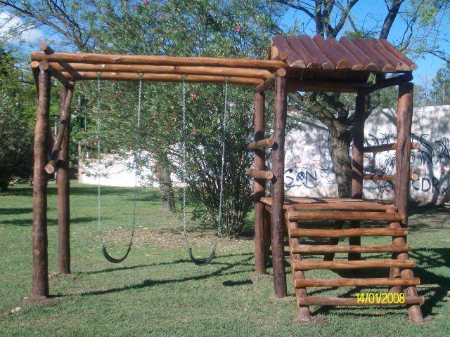 Juegos ecologicos para chicos vivero el pinar san francisco c rdoba argentina san for Juegos de jardin infantiles de madera
